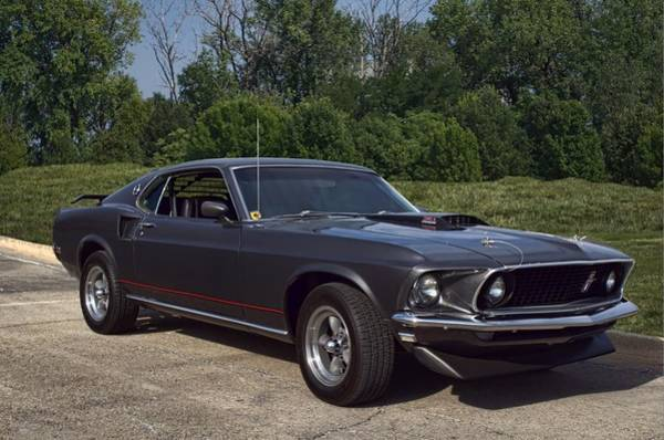 Photograph - 1969 Mustang 351 Cleveland Fastback by Tim McCullough