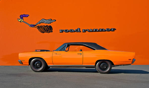 Wall Art - Photograph - 1969 Plymouth Road Runner by Dave Koontz