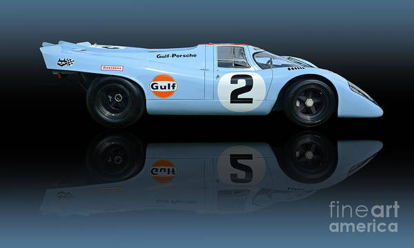 Autosport Wall Art - Photograph - 1969 Porsche 917k Gulf Daytona Winner by Tad Gage