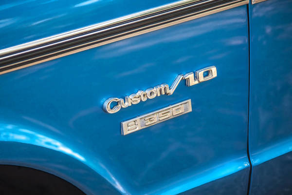 Photograph - 1970 Chevy Custom 350 Truck  by Rich Franco