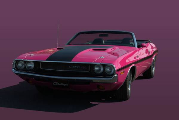 Photograph - 1970 Dodge Challenger Convertible by Tim McCullough