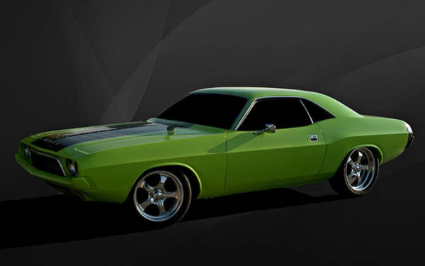 Photograph - 1970 Dodge Challenger Rt by Tim McCullough