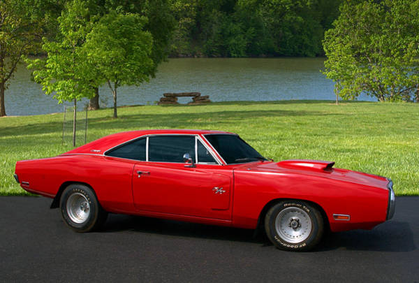 Photograph - 1970 Dodge Charger Rt by Tim McCullough
