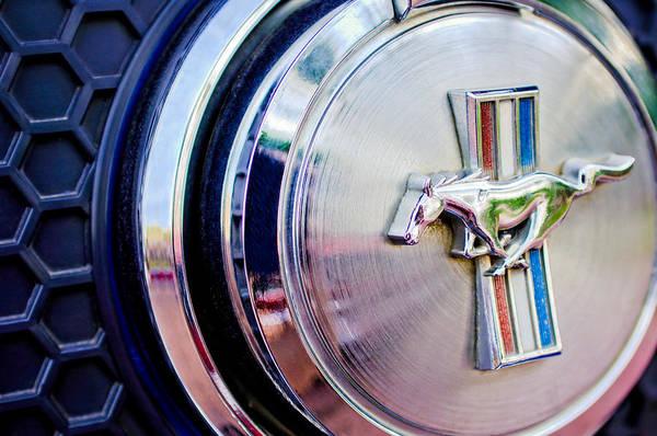 Photograph - 1970 Ford Mustang Mach 1 Emblem by Jill Reger