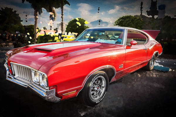 Photograph - 1970 Oldsmobile 442 W30 by Rich Franco