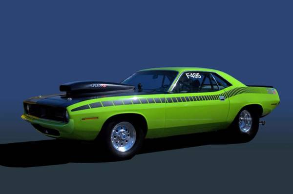 Photograph - 1970 Plymouth Barracuda Dragster by Tim McCullough