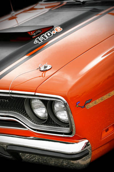 The Belvedere Photograph - 1970 Plymouth Road Runner 440 by Gordon Dean II