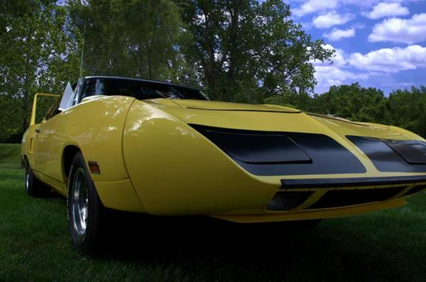 Photograph - 1970 Plymouth Superbird Road Runner by Tim McCullough
