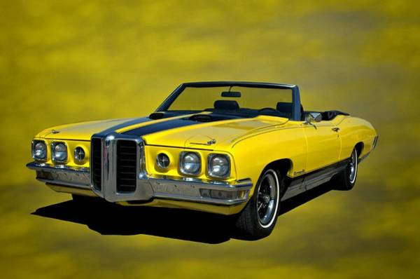 Photograph - 1970 Pontiac Bonneville Convertible by Tim McCullough