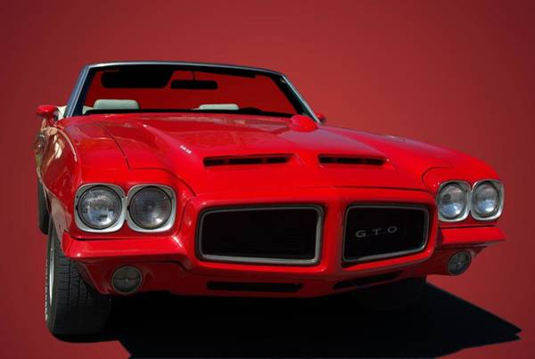 Photograph - 1970 Pontiac Gto Convertible by Tim McCullough