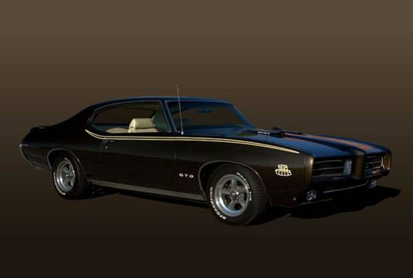 Photograph - 1970 Pontiac Gto The Judge by Tim McCullough