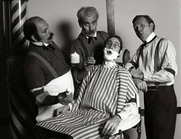 Shaved Photograph - 1970s Barbershop Quartet Singing by Vintage Images
