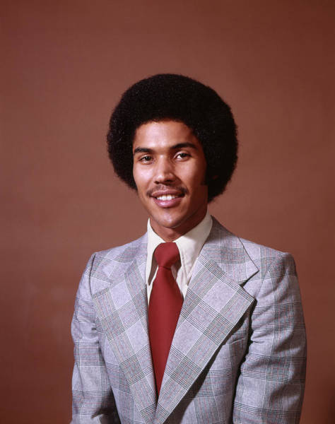 Mens Clothing Wall Art - Photograph - 1970s Smiling African American Business by Vintage Images