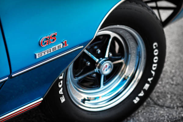 Gsx Photograph - 1971 Buick Gs Stage 1 by Gordon Dean II