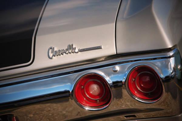 Clear Coat Wall Art - Photograph - 1971 Chevrolet Chevelle Ss by Gordon Dean II