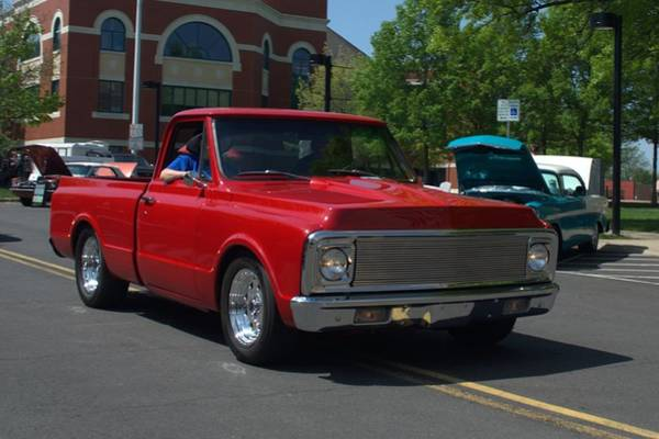 Photograph - 1971 Chevrolet Pickup Truck by Tim McCullough