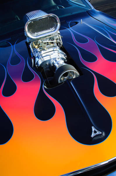 Photograph - 1971 Dodge Challenger 440 Hot Rod Engine by Jill Reger