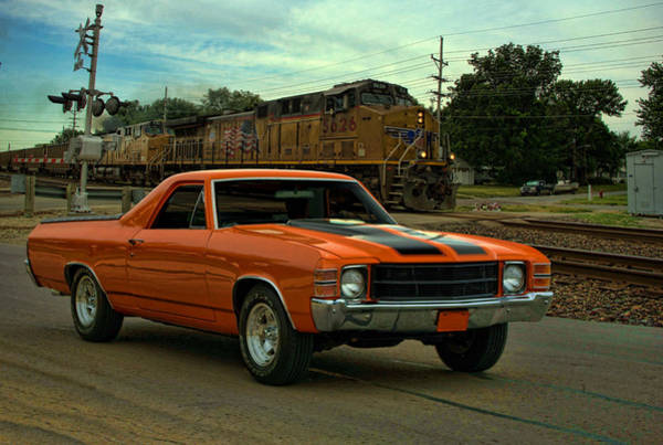 Photograph - 1971 El Camino by Tim McCullough