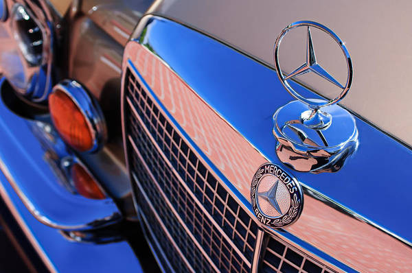 Wall Art - Photograph - 1971 Mercedes-benz 280se 3.5 Cabriolet  by Jill Reger