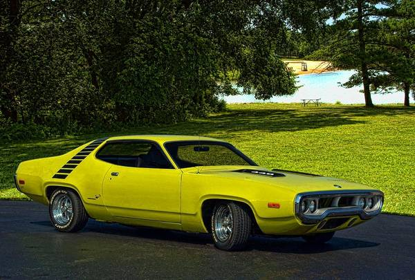 Photograph - 1972 Plymouth Roadrunner by Tim McCullough
