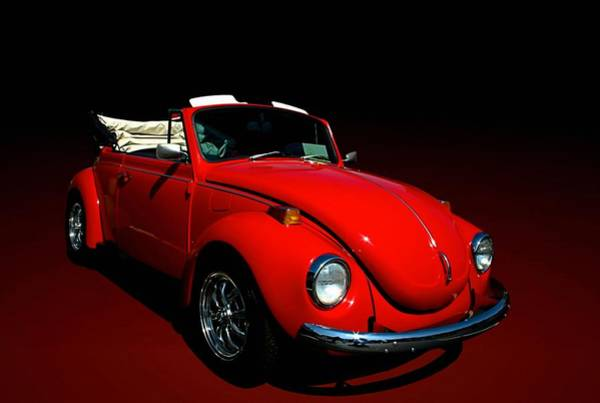 Photograph - 1971 Vw Convertible by Tim McCullough