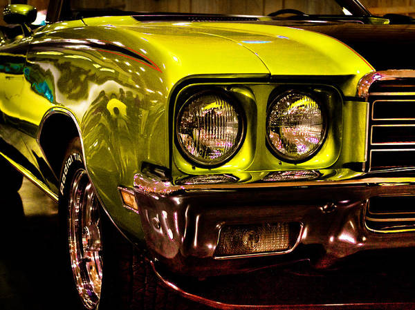 Photograph - 1972 Buick Skylark Custom Convertible by David Patterson