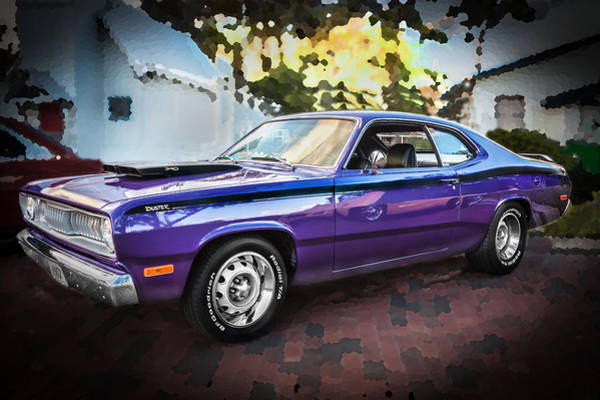 Photograph - 1972 Plymouth 340 Duster  by Rich Franco