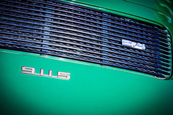 Photograph - 1972 Porsche 911 2.4 S Targa Rear Emblems -0669c by Jill Reger