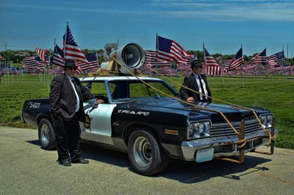 Photograph - 1974 Dodge Monaco The Blues Brothers by Tim McCullough