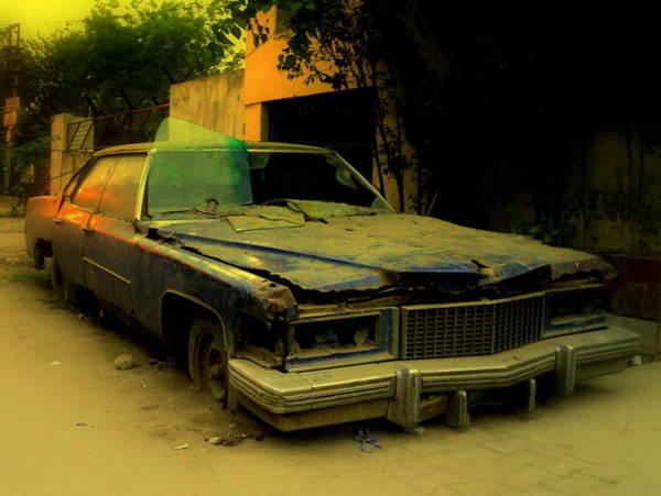 Wall Art - Photograph - Cadillac 1974 Deville Sedan  by Salman Ravish