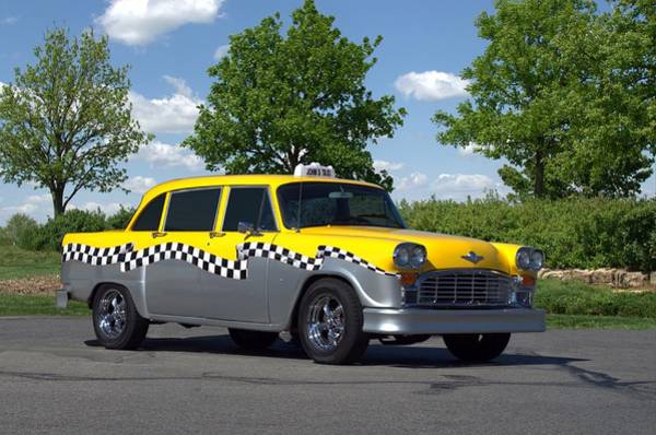 Photograph - 1975 Checker Cab by Tim McCullough