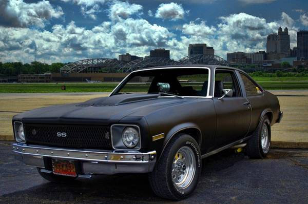 Photograph - 1975 Nova by Tim McCullough