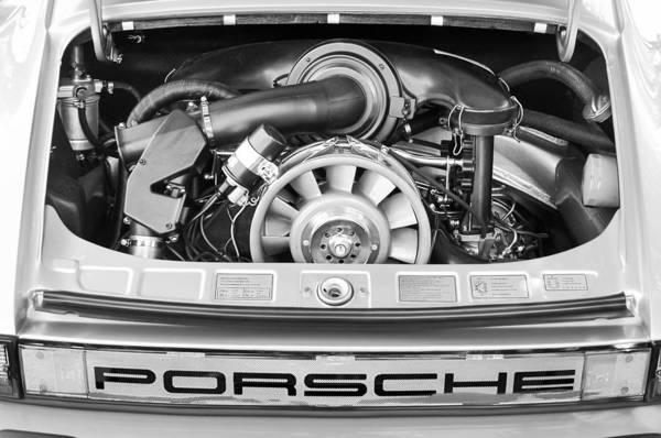 1976 Photograph - 1976 Porsche 911 Carrera 2.7 Engine Taillight Emblem by Jill Reger