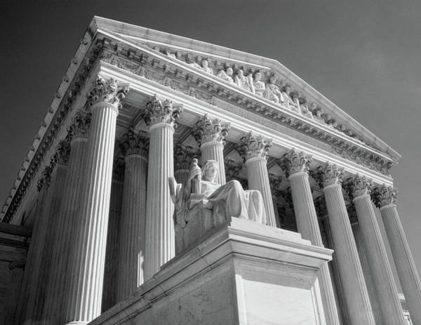 Edifice Photograph - 1980s Federal Supreme Court Building by Vintage Images