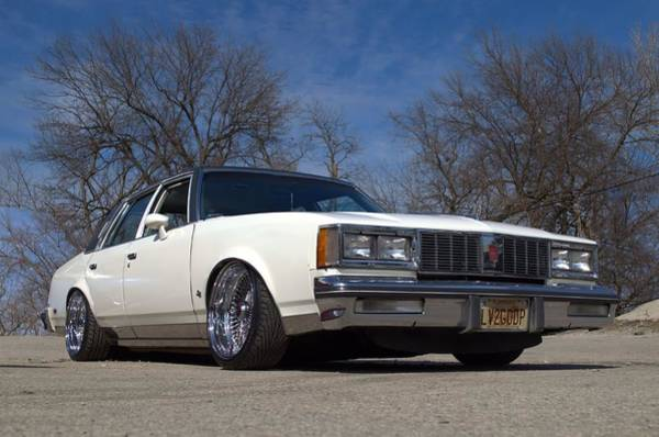 Photograph - 1984 Oldsmobile Cutlass Se Lowrider by Tim McCullough