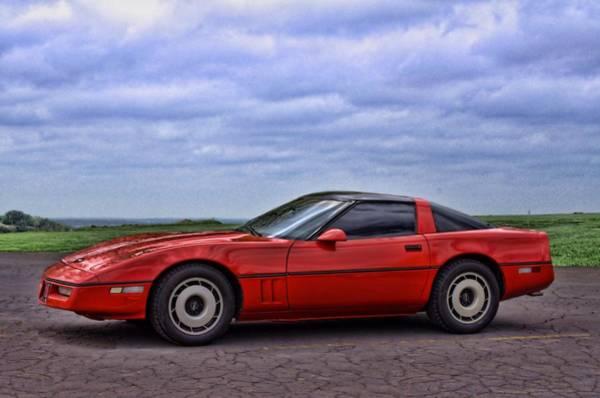 Photograph - 1989 Corvette by Tim McCullough