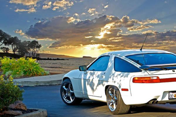 Wall Art - Photograph - 1990 Porsche 928 by Dave Koontz