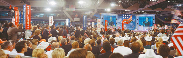 Conservative Wall Art - Photograph - 1996 Republican National Convention by Panoramic Images