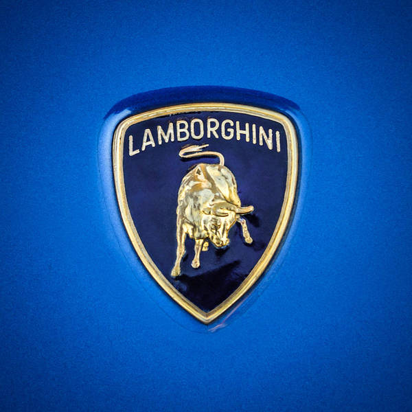 Photograph - 1997 Lamborghini Diablo Roadster Emblem -0209c by Jill Reger