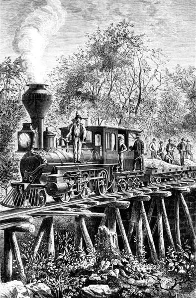 Wall Art - Photograph - 19th C Costa Rican Railway by Collection Abecasis/science Photo Library