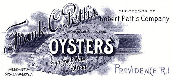 Oyster Bar Wall Art - Painting - 19th C. Oysters For Sale by Historic Image