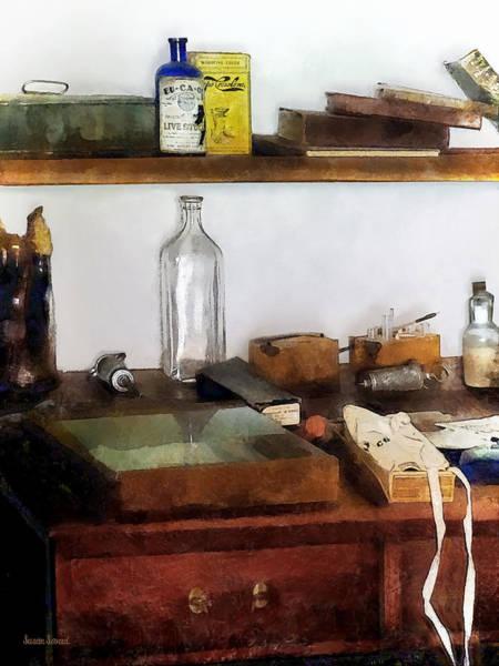 Photograph - 19th Century Veterinarian's Office by Susan Savad