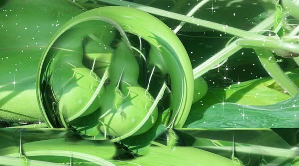 Fractal Landscape Digital Art - 1st Gourd by Phil Sadler