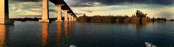 Mangroves Digital Art - 1st. Hdr. Wabaso Bridge by Angel H Juarbe