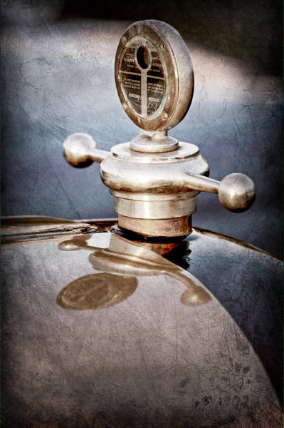 Studebaker Photograph - 1922 Studebaker Touring Hood Ornament by Jill Reger