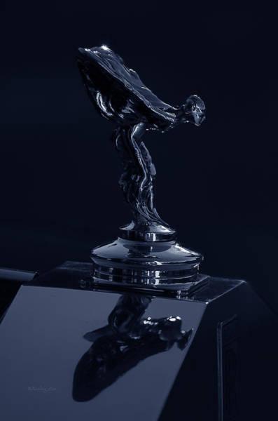 Photograph - 1930 Rolls Royce Emblem II by Xueling Zou