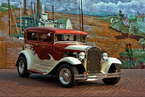 Photograph - 1931 Ford Model A Sedan Hot Rod by Tim McCullough