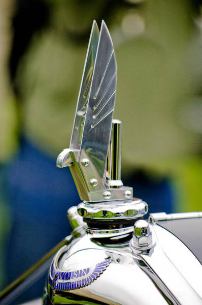 D.c Photograph - 1934 Voisin C-25 Aerodyne Hood Ornament by Jill Reger