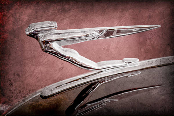 Photograph - 1936 Auburn Speedster Replica Hood Ornament by Jill Reger