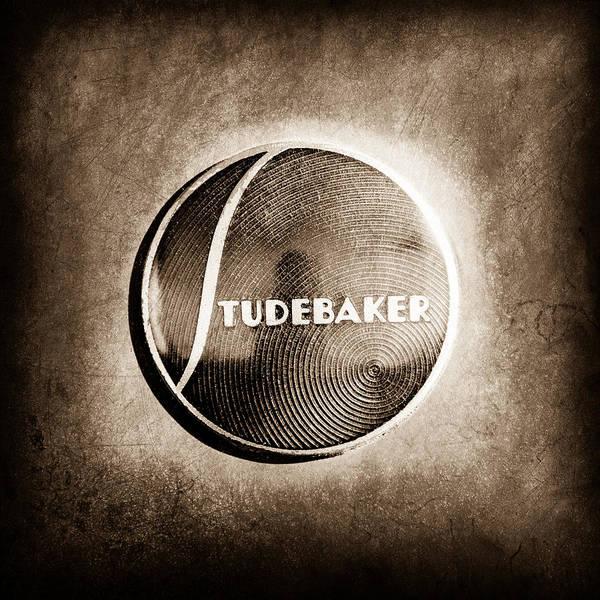Studebaker Photograph - 1937 Studebaker Emblem by Jill Reger